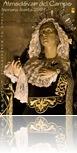 La imagen de Nuestra Señora de los Dolores, tallada por Benlliure, protagoniza el cartel anunciador de este año.