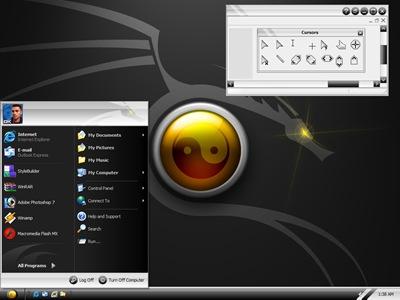 Dragon_Style,windows style xp theme download,xp佈景主題vista,visual styles,xp佈景主題教學下載,桌面改造,桌面美化,破解xp佈景主題限制