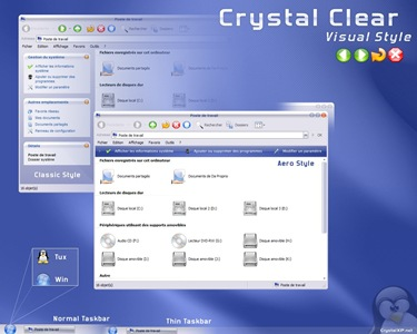 Crystal_Clear_Visual_Style,windows,vista,themes download,visual styles,xp佈景主題教學下載,桌面改造