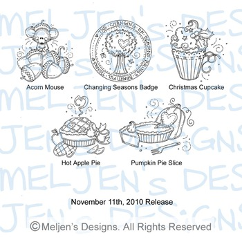 Meljens Designs November 11th Release Display
