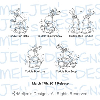Meljens Designs March 17th Release Display