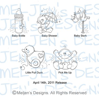 Meljens Designs April 14th Release Display