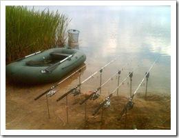 Хрінницьке водосховище. Рибалка