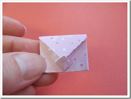 Tiny envelope closed.