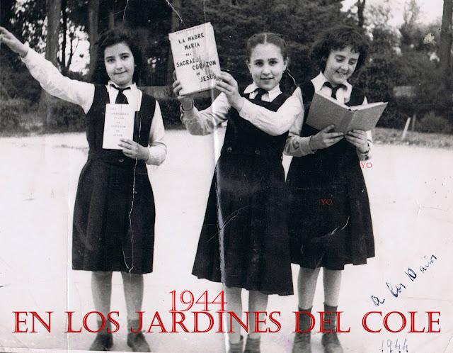 Foto hecha por las monjas para la revista del cole.