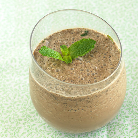 Double Chocolate Mint Smoothie