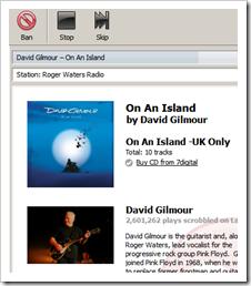 david gilmour roger waters radio
