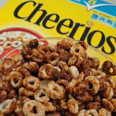 Zesty Cheerios Diet Snack