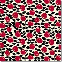 PP331 Vintage Red Black Grandmas Apron