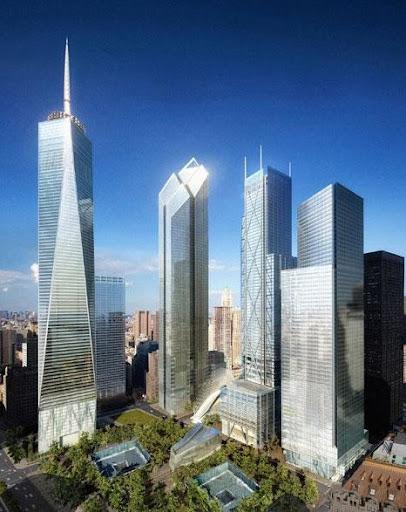 Skyscrapers in NY