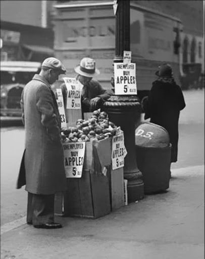 sale of apples