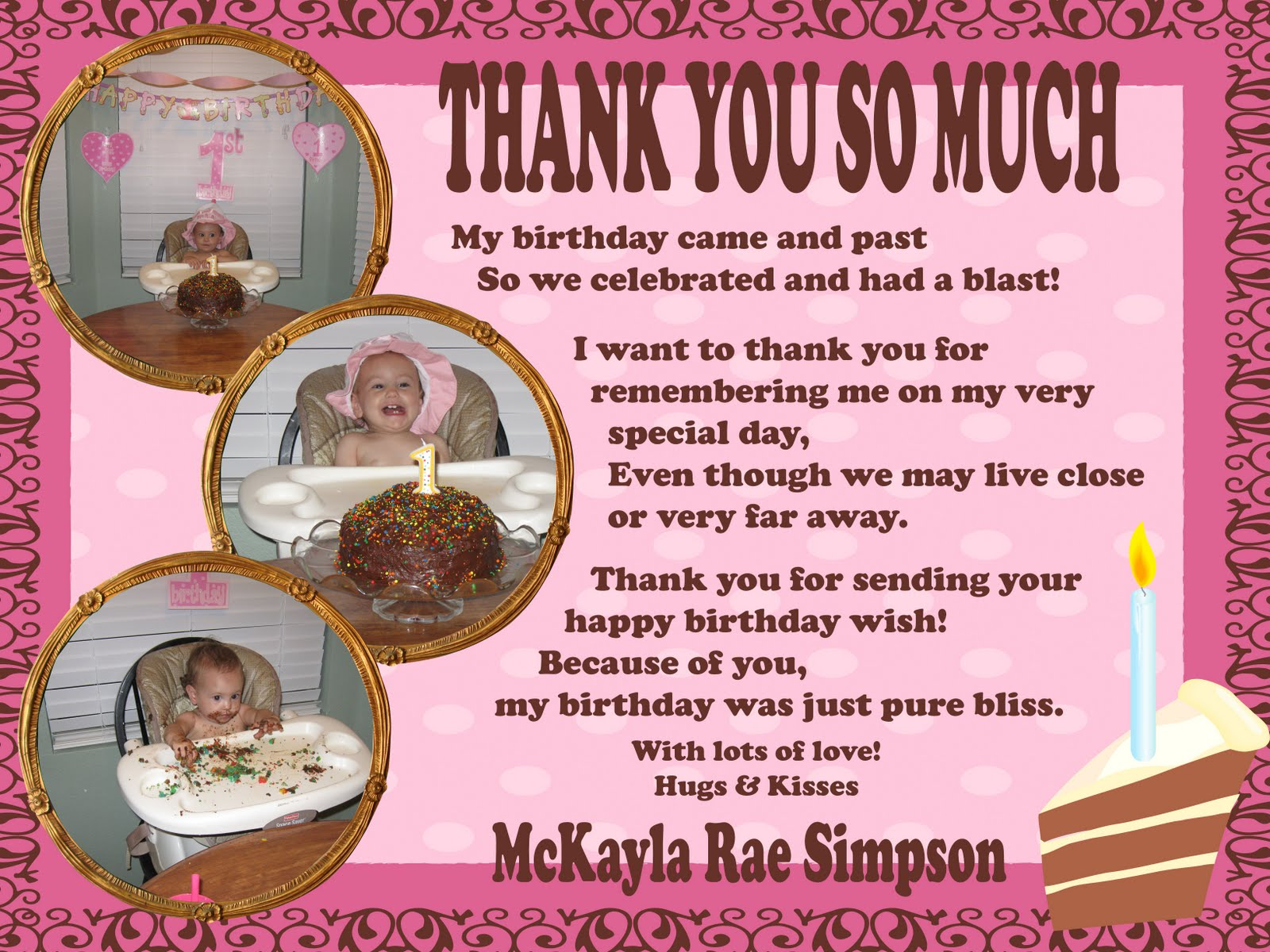 Baby Shower Thank You Quotes 4 Quotes Links