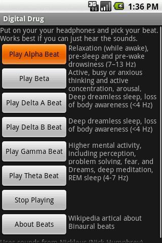 Digital Drug - Binaural Beats
