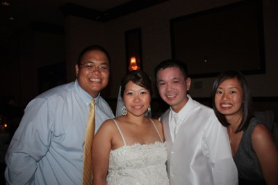 Marisol and Marvin's wedding