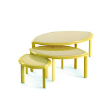 Ensemble Tables gigognes Première (jaune anis) (2)_EGO Paris.jpg