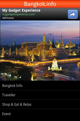 Bangkok Guide and Tourist Information