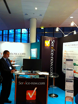 Stand Service-now.com ITSMF France 2010