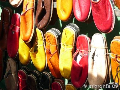 calzado multicolor