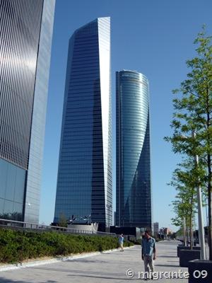 torres cristal y espacio