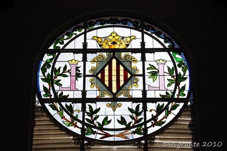 vitrales en círculo
