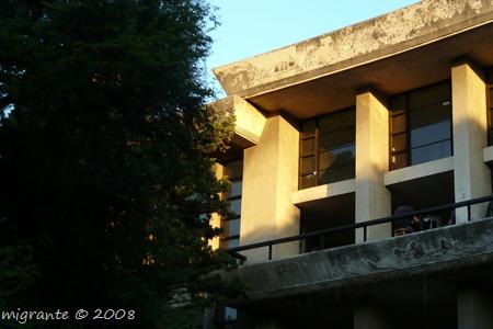 galería superior - FARQ - UdelaR