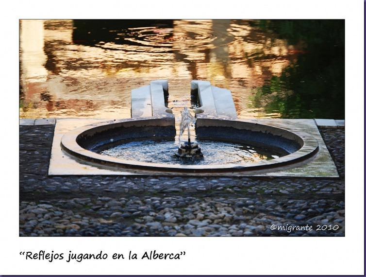 relflejos en la alberca - alcazaba de almería