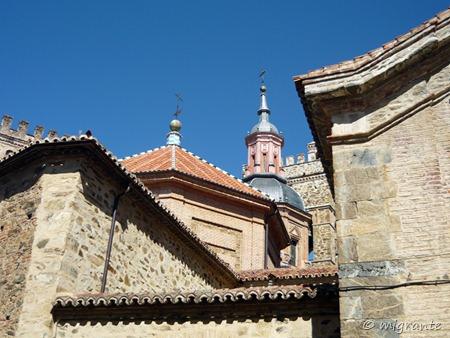 cúpulas - real monasterio de santa maría de guadalupe