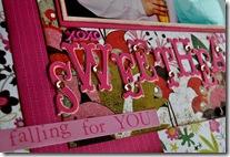 VALENTINE SCRAPBOOKING PAGE 2009