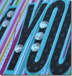 CRAZY FOR YOU 12X12 SCRAPBOOKING PAGE