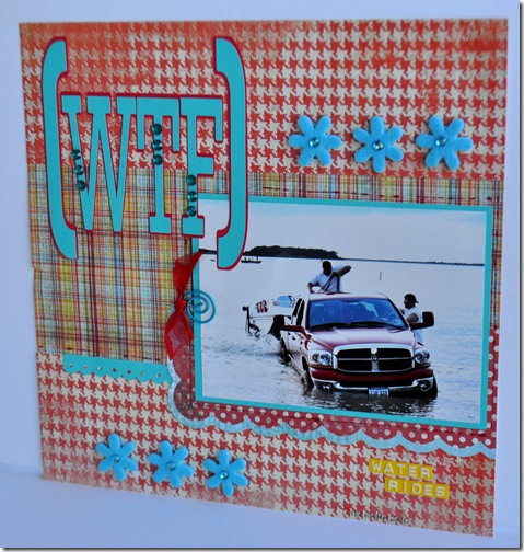 WTF 12X12 SCRAPBOOKING PAGE 2