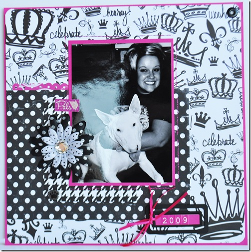 INTRO 2009 12X12 SCRAPBOOKING PAGE 2