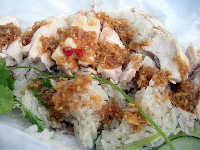 Recently From A Cart Khao Man Gai Pechlucks Food Adventures