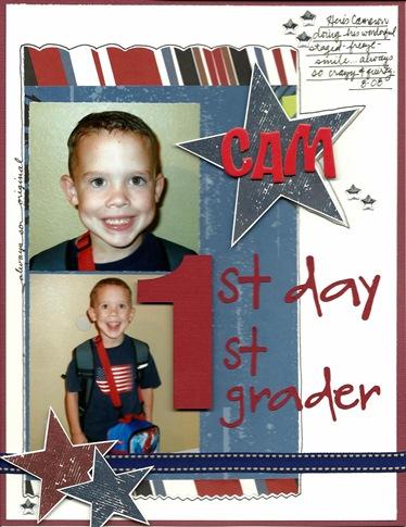 1st day 1st grader