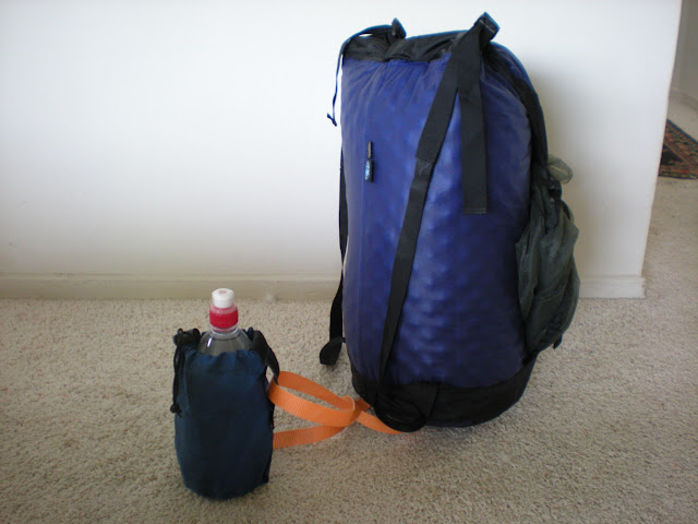 picture of my stuff-sack backpack