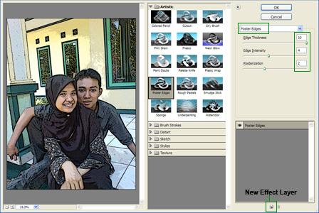 Mengubah Foto/Gambar Menjadi Cartoon Code:AIS