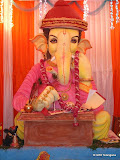 Jai Ganesh Friends Association(education Ganesh, Feelkhana - 15ft - 3.5 kgs laddu - @ GR8Telangana.com
