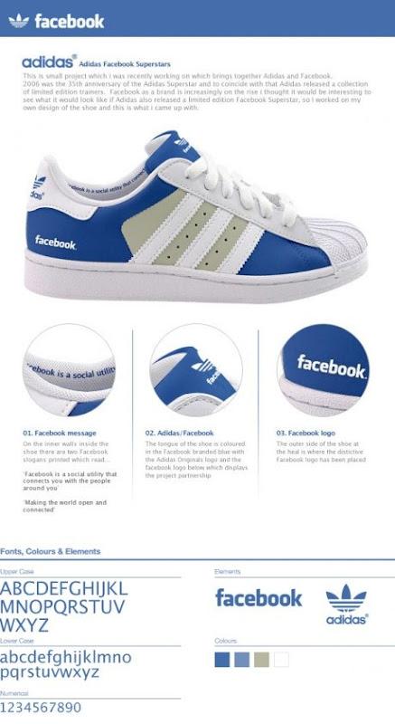 Tenis Adidas Facebook