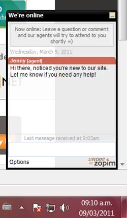 Chat gratuito para tu web Zopim