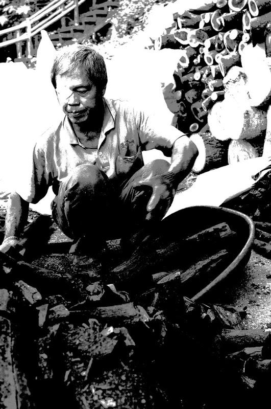 新埔--旱二碳窖出碳