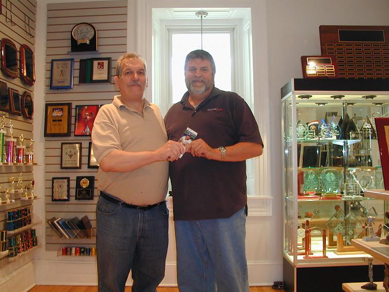 Bux-Mont Awards owner Greg Bencsik customer achievement recognition