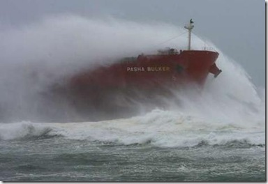 Ship Aground, Nobbys Beach, Newcastle