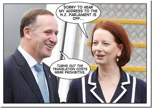 Gillard NZ Parliament