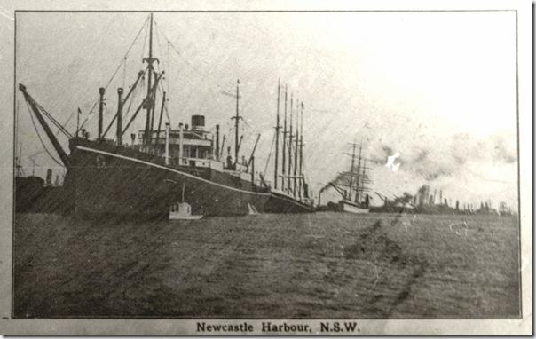 Newcastle steam and sail c 1900