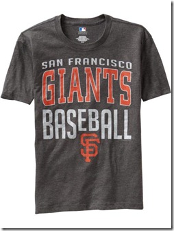 2011.05.13 - Giants Shirt Old Navy