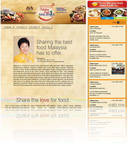 malaysian food website