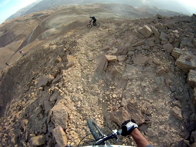 Twisty, winding and STEEP goat trails...