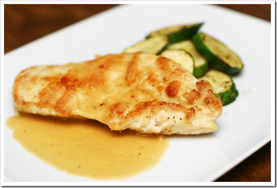 ... with Caution: Chicken French with a White Wine Lemon Butter Sauce
