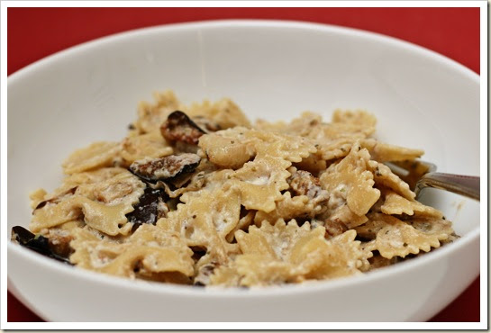 Proceed with Caution: Farfalle with Roasted Eggplant and ...