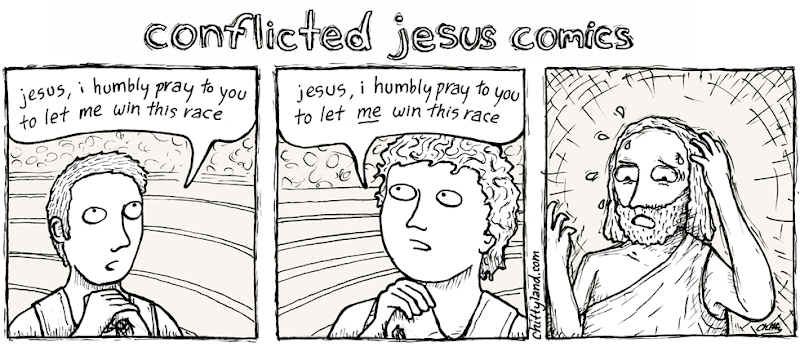 Conflicted Jesus Comics