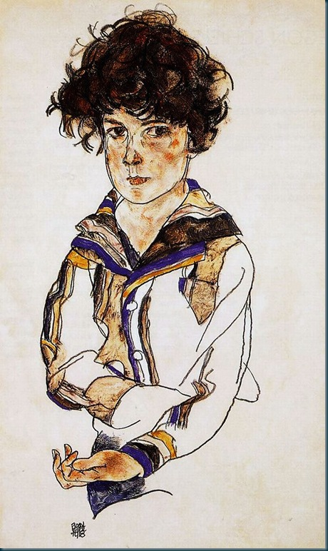portrait of a boy - 1918